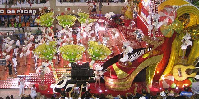 Rio de Janiero during Carnival