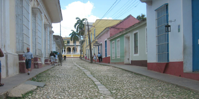 A Cuban City Street