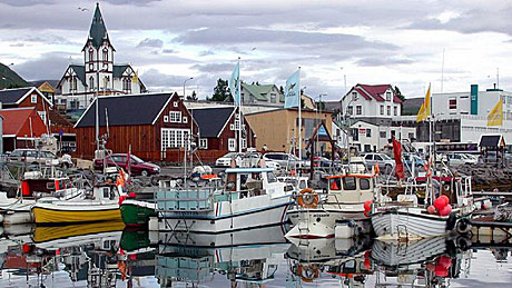 A Picturesque Icelandic Village