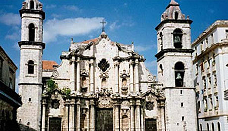 San Cristobal Cathedral in Havana