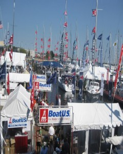 Annapolis Sail Boat Show View from Pussers Deck s 240x300 The United States Sailboat Show   Dreams in the Seaport City of Annapolis