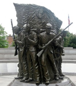 Freedom Memorial for African Americans Soldiers